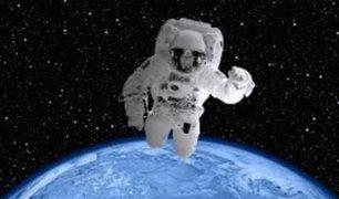 COVID-19: astronauta da mensaje desde el espacio a Italia