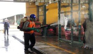 Refuerzan trabajos de limpieza y fumigación en GMML para frenar expansión del COVID-19