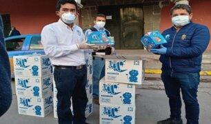 Ayacucho: Julio Garay donó más de 3 mil galletas contra la anemia a familias vulnerables