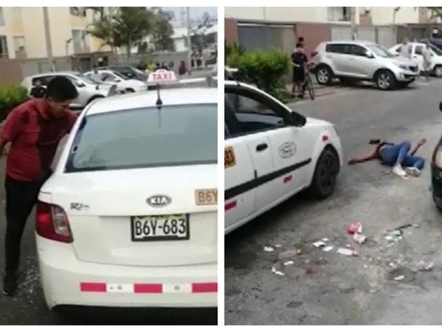 Asalto frustrado en Chorrillos: taxista utilizó su arma para defenderse de delincuentes