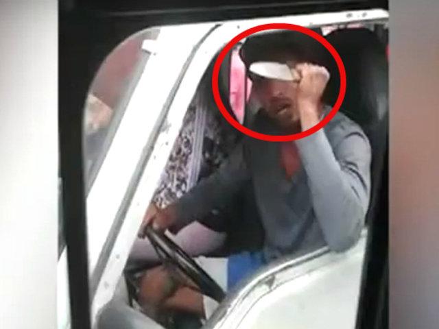 SMP: mafias de jaladores y conductores convierten paradero en tierra de nadie