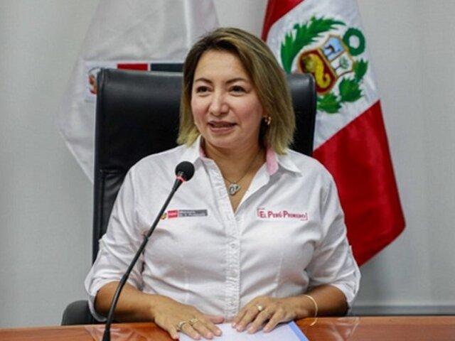 Rocío Barrios: Fiscalía solicita 9 años de cárcel para ministra de Producción