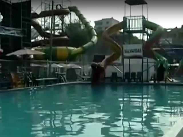 Huachipa: niño muere ahogado mientras salvavidas se distraían con celular