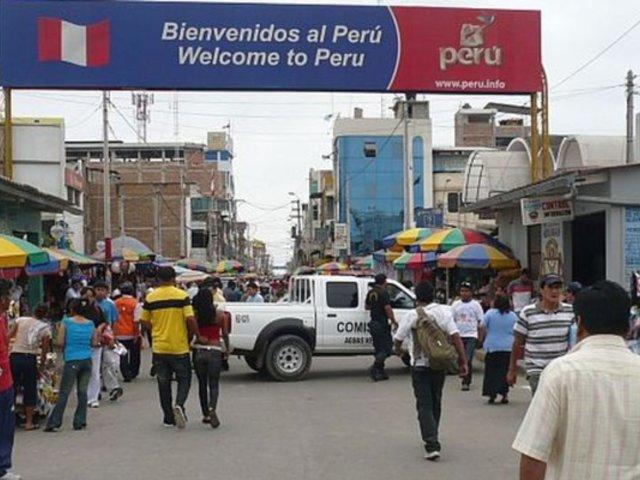 Tumbes: detienen a 16 peruanos que burlaron los controles de seguridad en Ecuador