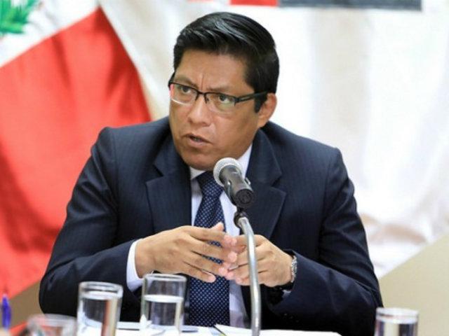 """Premier Zeballos: Gobierno dará mayor """"flexibilidad"""" para importar oxígeno"""