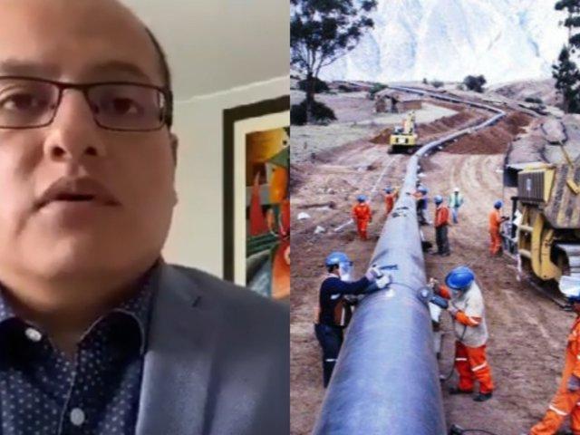 Víctor Hugo Quijada sobre Gasoducto: podría negociarse otro convenio de colaboración con Odebrecht