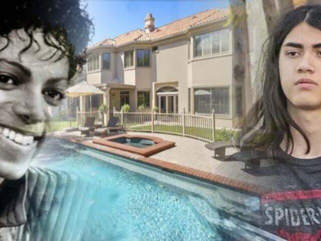 El hijo de Michael Jackson cumplió 18 años y se compró una mansión