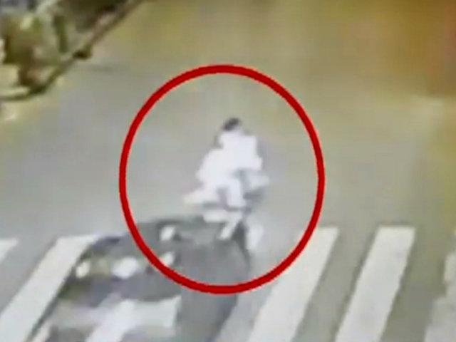 Ate: conductor sin SOAT arrolló a madre y sus dos hijos