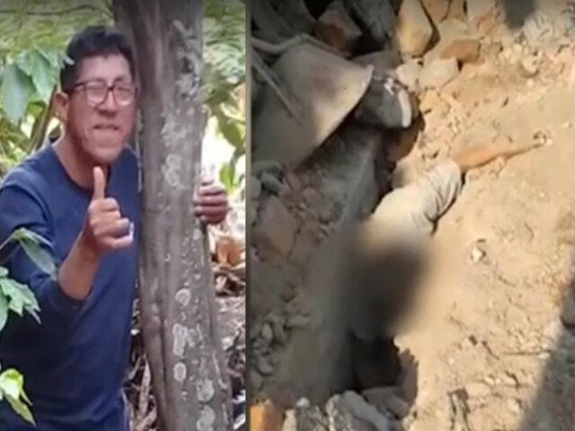 Independencia: muro en construcción aplasta a obrero y le quita la vida