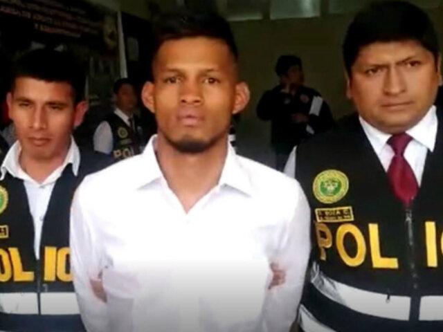 Huancayo: PNP detiene a dos extranjeros implicados en banda delictiva