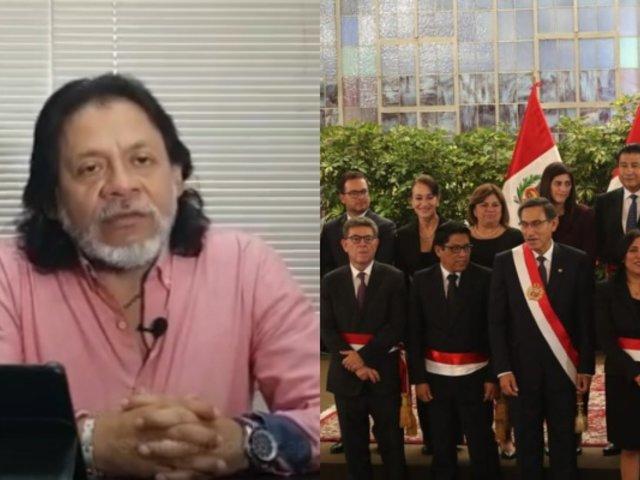 """César Gutiérrez: gestión de Martín Vizcarra ha desencadenado un """"Gabinete precario"""""""