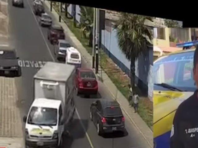 Surco: Niño sobrevive tras ser atropellado por camión