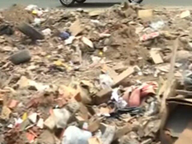 Breña: casa abandonada se convierte en vertedero de desmonte