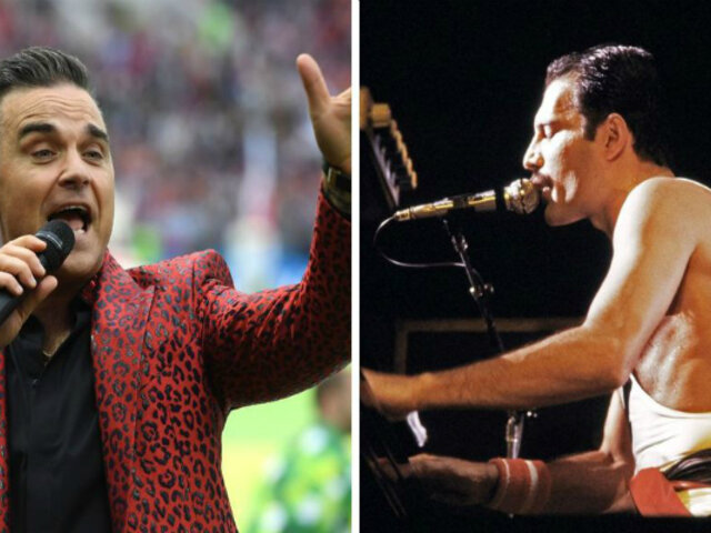 Robbie Williams confesó que rechazó propuesta para reemplazar a Freddie Mercury en la banda Queen