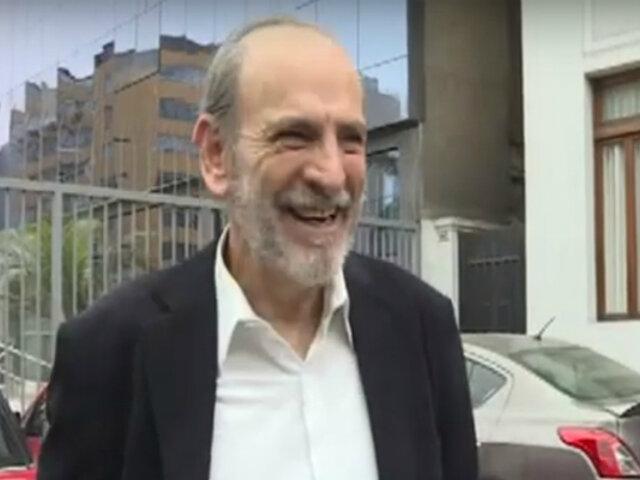 Yehude Simon: Poder Judicial ordena su libertad inmediata