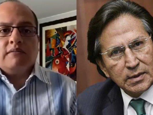 """Víctor Hugo Quijada sobre extradición de Toledo: """"Esperemos que la justicia peruana actúe con celeridad"""""""