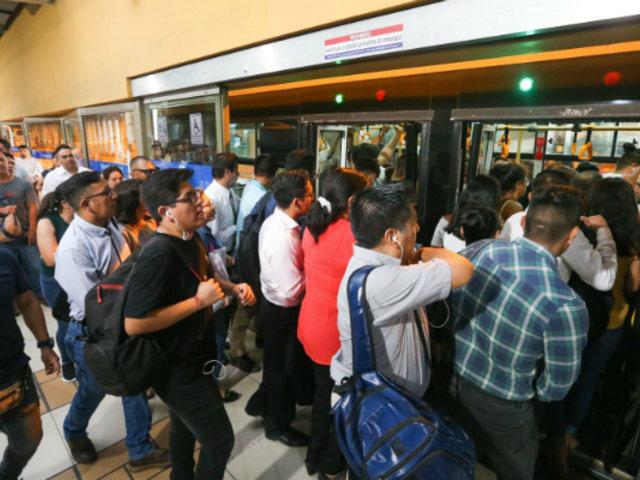 Coronavirus en Perú: promueven campaña de lavado de manos en Estación Central del Metropolitano