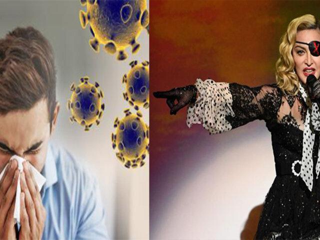 Madonna anuncia cancelación de conciertos en Francia por el Coronavirus