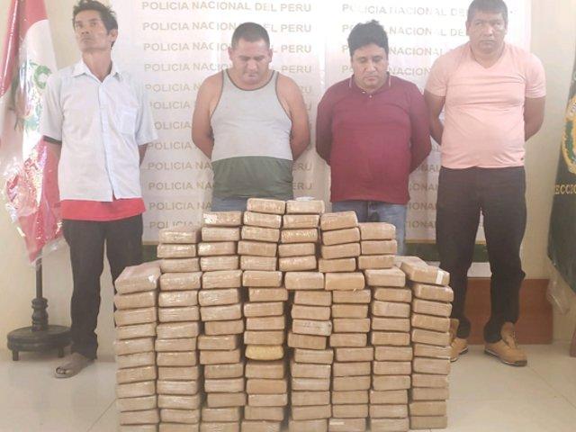 Caen 4 sujetos con más de 230 kilos de cocaína que iban a enviar al extranjero