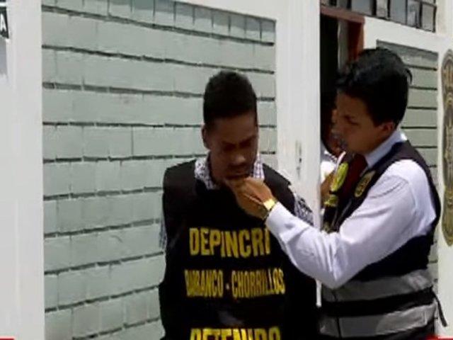 Chorrillos: venezolano implicado en muerte de menor es un expresidiario