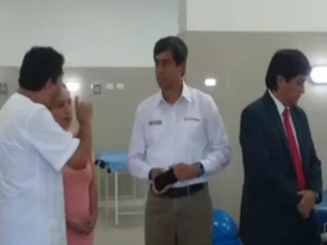 Ministros viajaron al interior del país para evaluar situación de regiones ante coronavirus