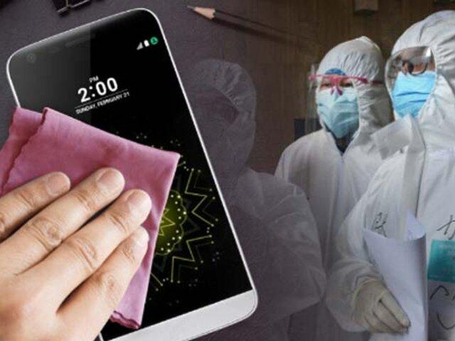 ¿Es necesario limpiar el celular con frecuencia para evitar el coronavirus?