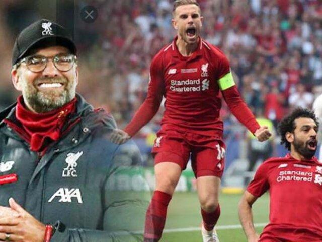 Liverpool sería proclamado campeón de la Premier League por el coronavirus