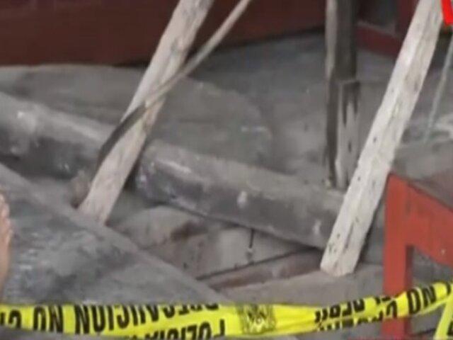 Lurín: obrero muere al caer en profundo pozo