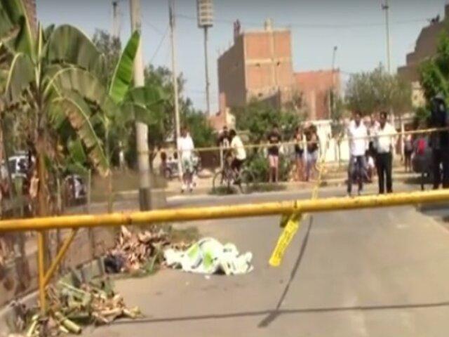 SMP: obrero es asesinado al resistir robo