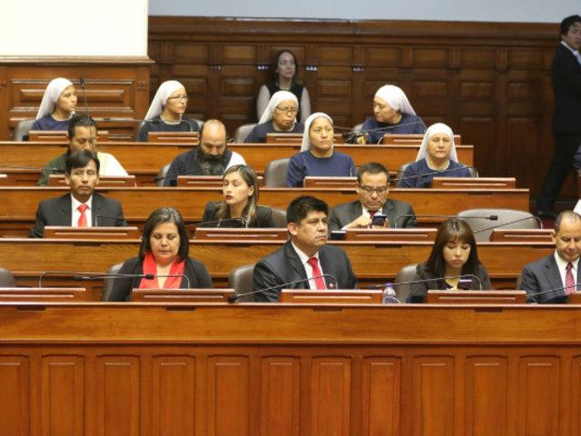 Juran nuevos congresistas para el periodo legislativo 2020-2021