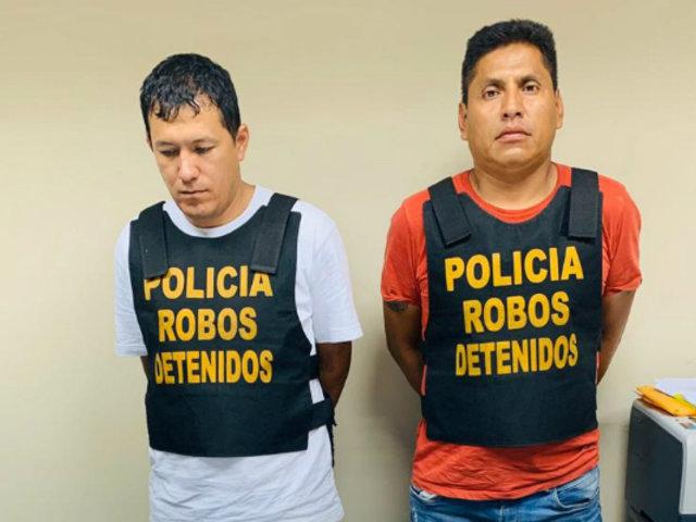 Detienen a delincuentes que vigilaban a potencial víctima en plena cuarentena