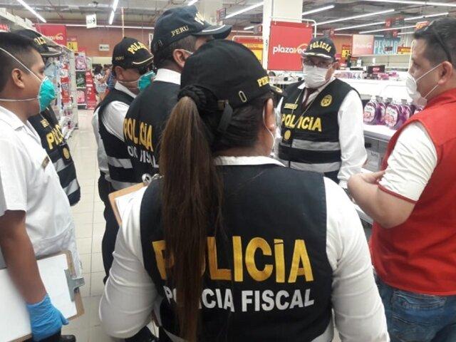 PNP interviene local de Plaza Vea por el presunto delito contra el orden económico