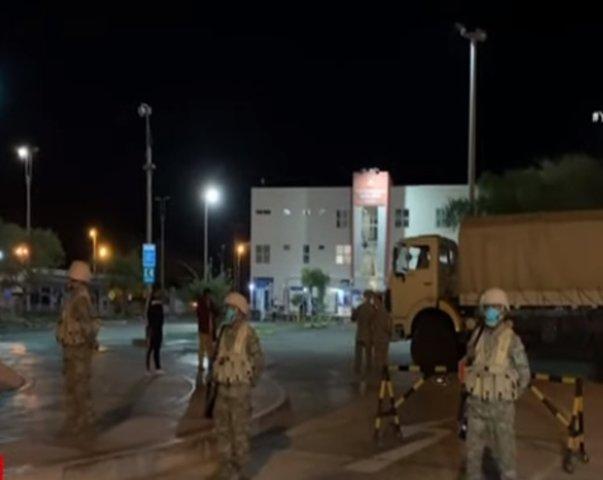 Tacna: Complejo fronterizo Santa Rosa es custodiado por militares