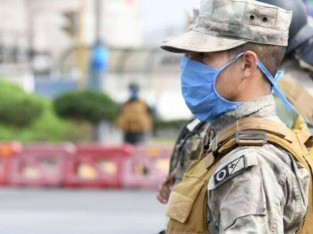 Coronavirus: Marina de Guerra crea sus propias mascarillas
