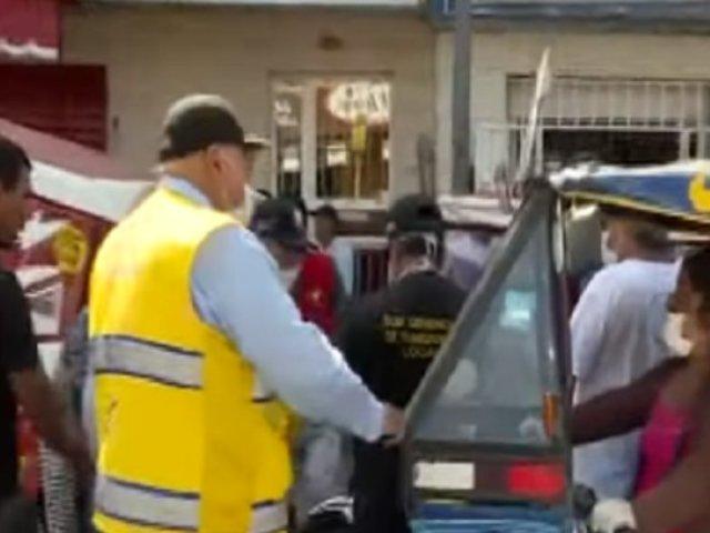 El Agustino: mototaxistas incumplen decreto de emergencia nacional