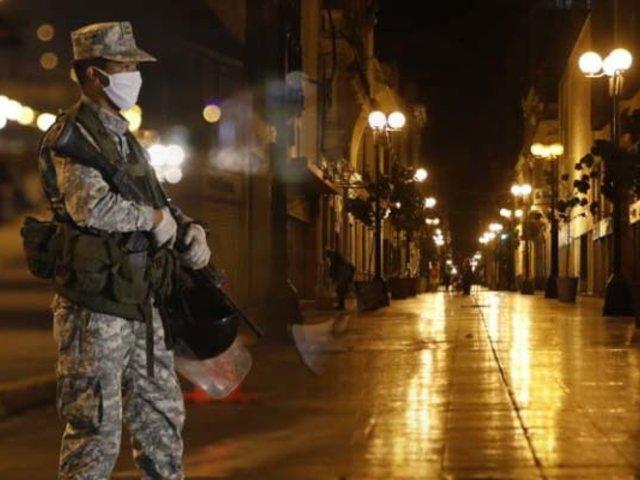 Así amaneció Lima tras primera noche de toque de queda