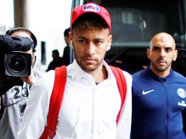 Neymar abandonó Francia tras anuncio de cuarentena, según prensa francesa