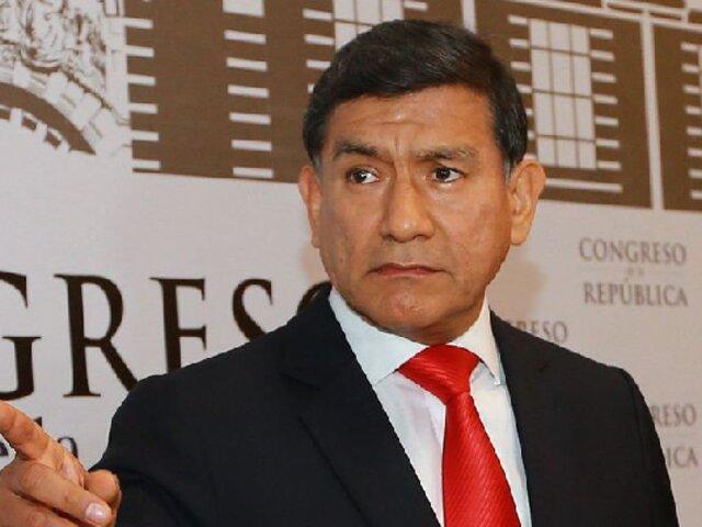 Comisión de Fiscalización acordó citar a exministro Carlos Morán