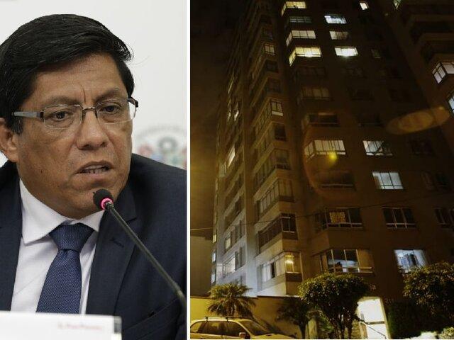 Premier Zeballos anuncia investigación por muerte de paciente con Covid-19 en su domicilio