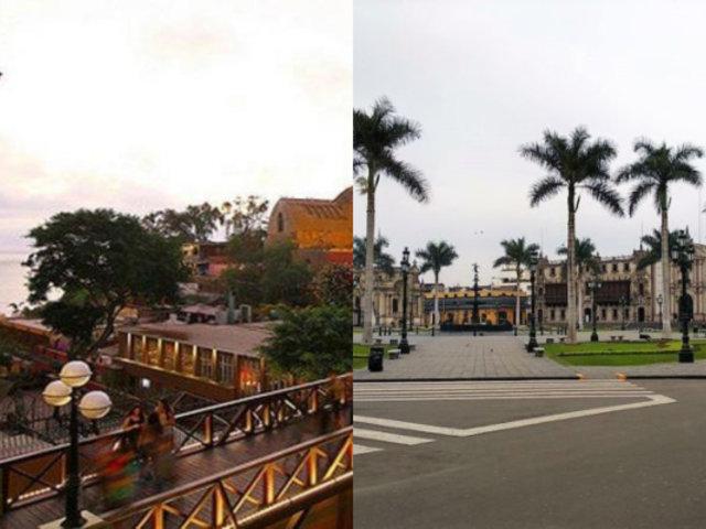 Coronavirus en Perú: El cambio radical de los puntos turísticos de Lima