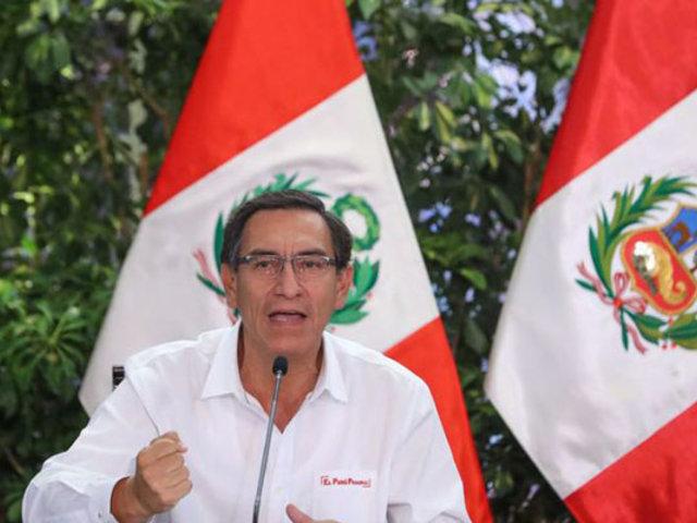 Vizcarra: Abastecimiento está asegurado en sexto día de estado de emergencia
