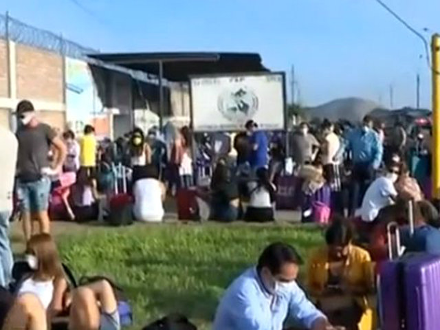 """Turistas regresarán a su país y agradecen a peruanos: """"estuvieron muy atentos, gracias"""""""