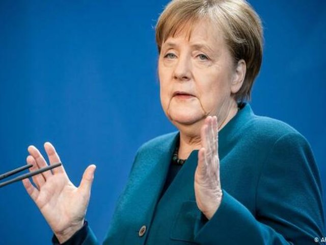 Angela Merkel dio negativo en prueba preliminar del coronavirus