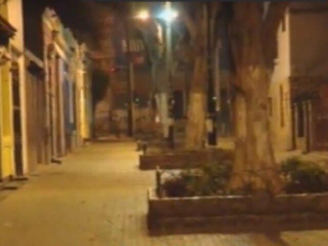 Miraflores: bares permanecen cerrados por aislamiento obligatorio