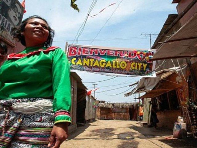 Jorge Muñoz entregó agua y alimentos a comunidad shipibo-konibo de Cantagallo