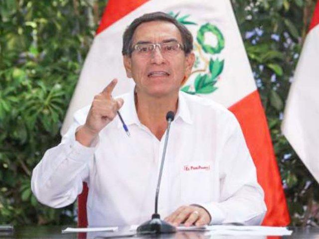Vizcarra: Congreso rechazó facultad para que Contraloría vigile gastos por Covid-19
