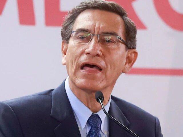 Martín Vizcarra: se evalúa la entrega de cts