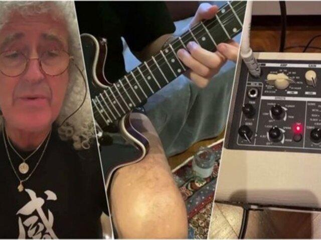 """Instagram: Brian May enseña a tocar el solo de """"Bohemian Rhapsody"""""""