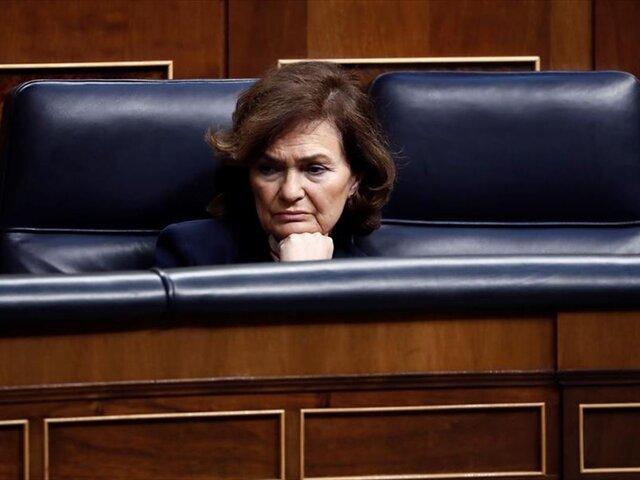 Coronavirus: vicepresidenta de España dio positivo en prueba