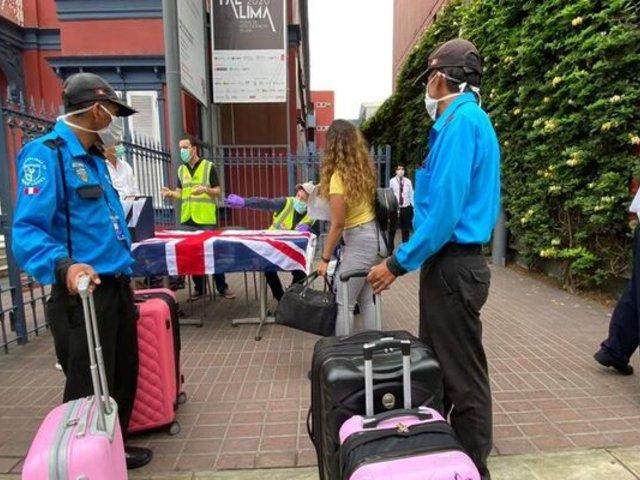 Gobierno británico costeó parte de los pasajes de sus compatriotas varados en Perú